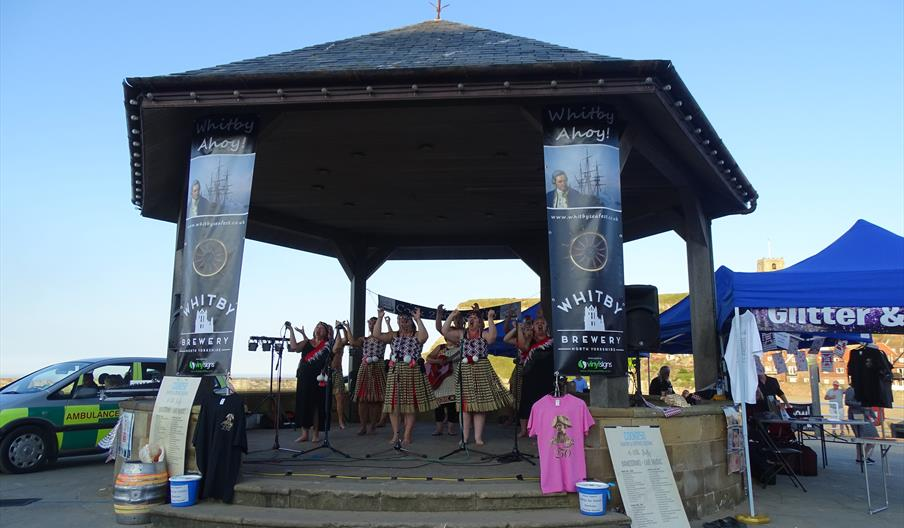 An Image of Whitby Bandstand