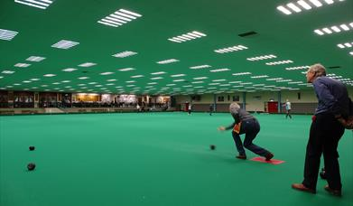 image of people bowling at bowls centre