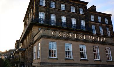 image of crescent hotel bar