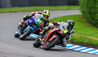 An image of Oliver's Mount racing