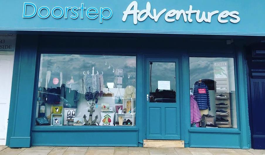 An image of the exterior of Doorstep Adventures, South Bay