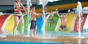 Children's play pool at Cayton Bay Parkdean resort
