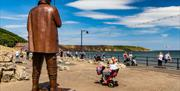 An image of Filey Seafront Sculpture Trail