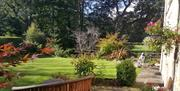 image of Lowther house garden
