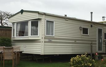 Hooks House Farm Caravan