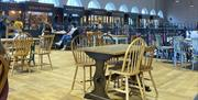 An Image of Scarborough Market Hall Dining Area