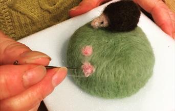 Pin Cushion - Needle Felting Workshop