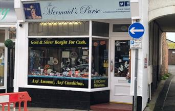 An image of the mermaids purse exterior