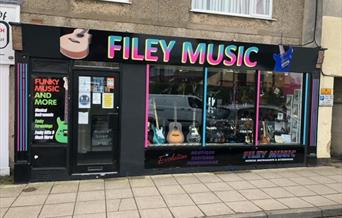 An image of Filey Music Shop