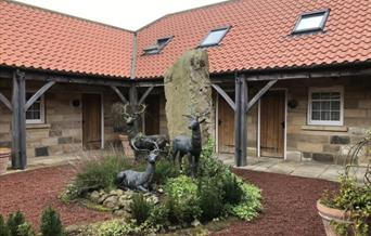An exterior image of The Stables at Cross Butts