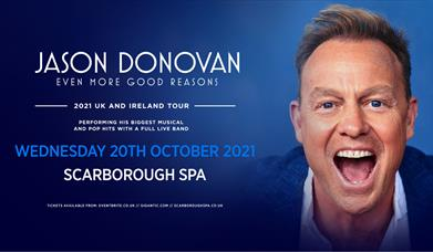 Jason Donovan at Scarborough Spa