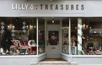 Lillys Treasures Gift Boutique - Front of shop