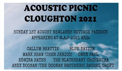 Macmillan Acoustic Picnic Music Festival Cloughton