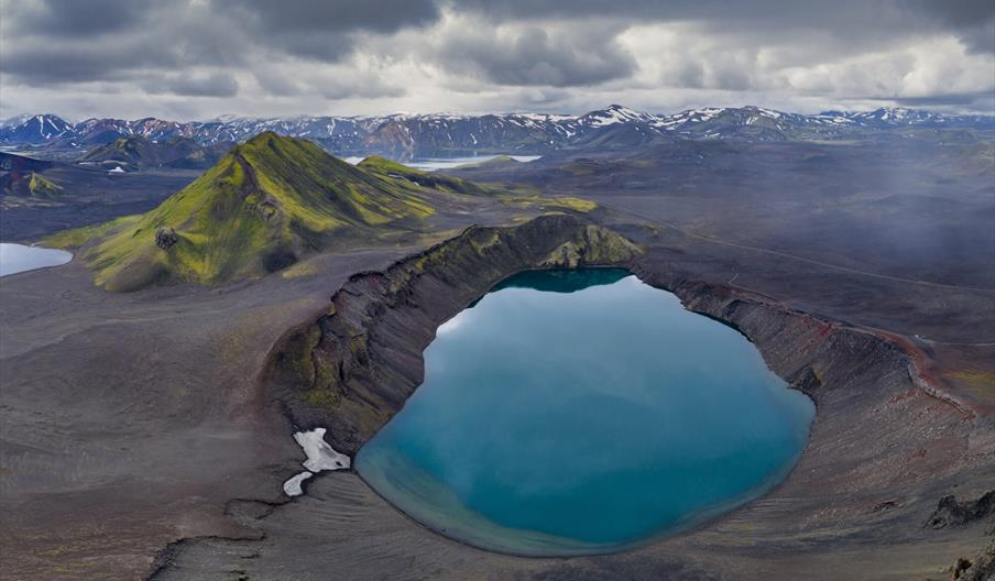Exhibition of Earth Photo at Dalby Forest Markus Van Hauten_Blue Pool_shortlisted for Earth Photo 2021