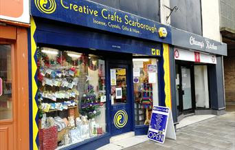 Creative Crafts Scarborough - Front of shop