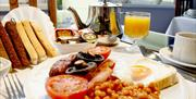 An image of The Paragon breakfast