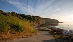 An image of Robin Hood's Bay Beach - Photo By Duncan Lomax