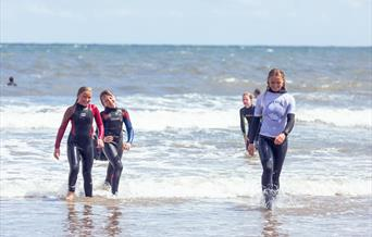 Ruby's Rippers Girls Surf Academy, Scarborough