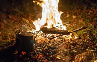 An Image of a Camp Fire at Rugged Outdoors