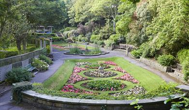 South Cliff Italian gardens. Photo by David Chalmers