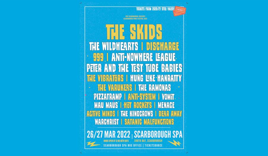 Scarborough Punk Festival 2022