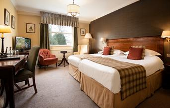 An image of The Black Swan Hotel Bedroom