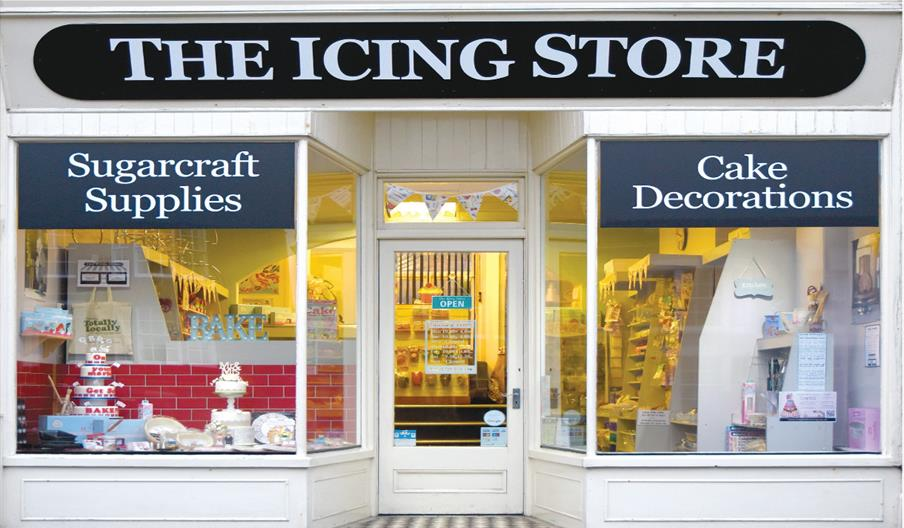 An image of the icing store exterior - Front of shop