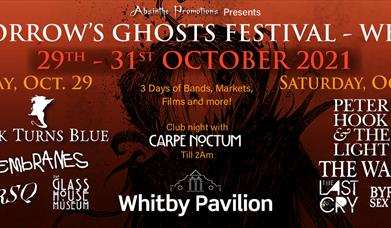 *New Date* Tomorrow's Ghosts Festival: October 2021