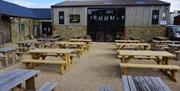 Whitby Brewery Courtyard