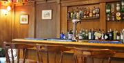 An image of the bar at Wrangham House Hotel