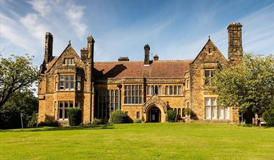 An exterior image of Wrea Head Hall Country House Hotel
