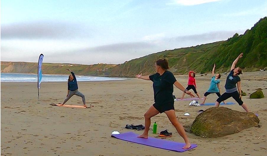 Yoga & Wild Swimming