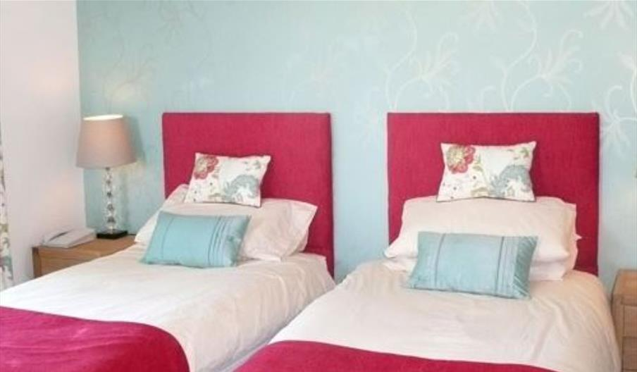 An image of the bedrooms at York House