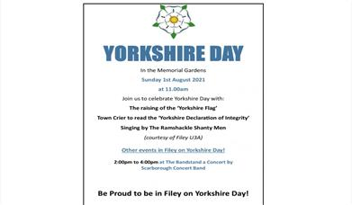 Yorkshire Day - Filey