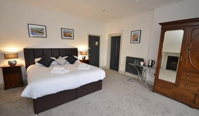 image of chapel house bedroom