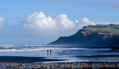 An image of Ravenscar beach - photo taken by Tony Bartholomew