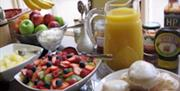 Arches Guest House Breakfast