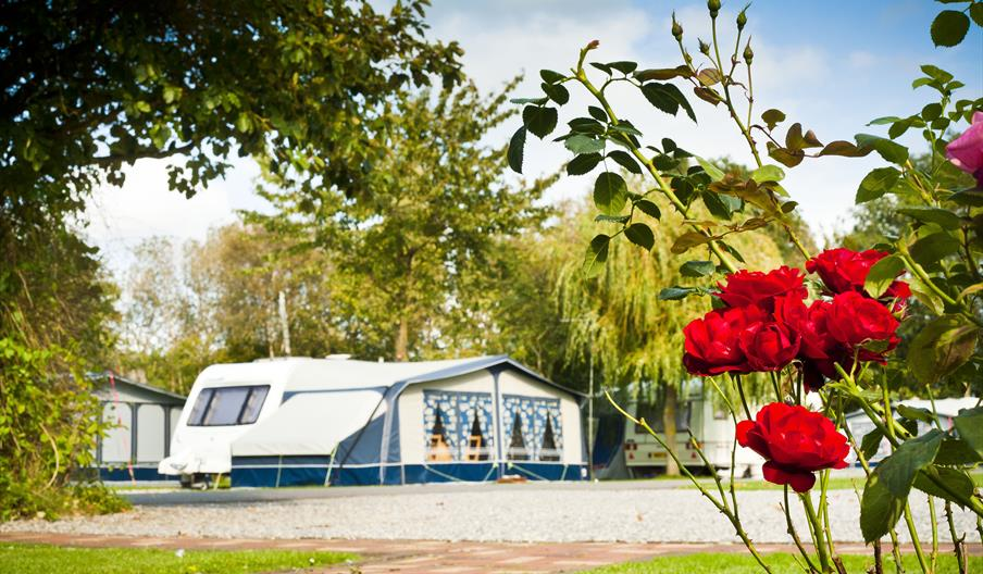 An exterior image of the Vale of Pickering Caravan Park
