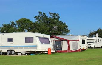 An Image Of Caravans