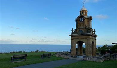 Clock Tower on Scarborough South Cliff