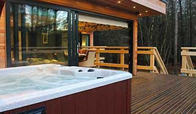 Image of Studford Lodges hot tub