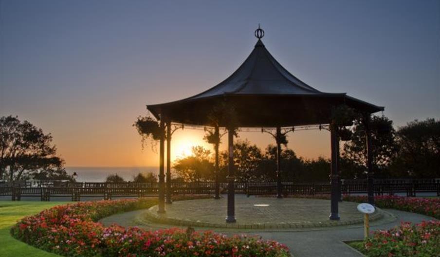 Filey Crescent Gardens Bandstand