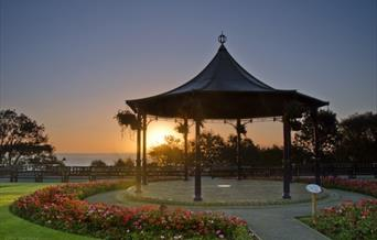 Filey Crescent Gardens Bandstand