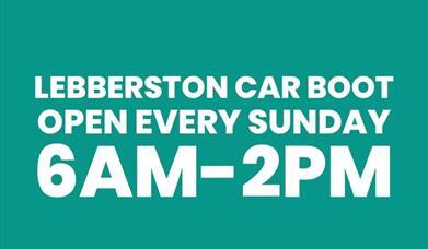 Lebberston Car Boot Sale