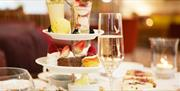 image of palm court afternoon tea