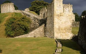 An image of Pickering Castle