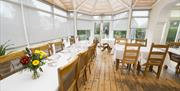 An image of The Old Manse Hotel dining room