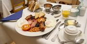 An image of The Old Manse Hotel breakfast