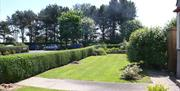 An image of the gardens at White Gable