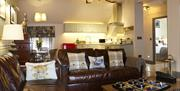 An image of The Copper Horse - Yew Tree Cottage lounge